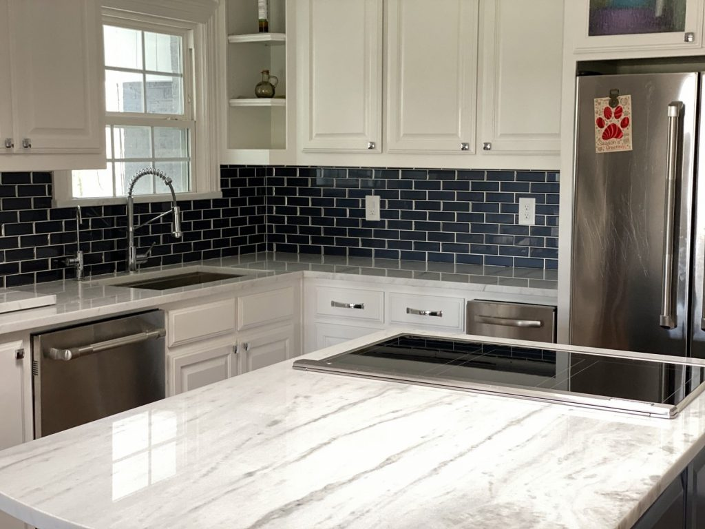 fabrication of a countertop